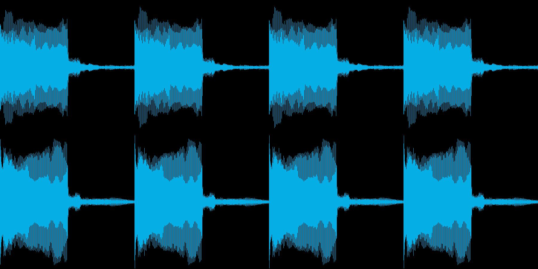 Buzzer アトラクション ブザー 1の再生済みの波形