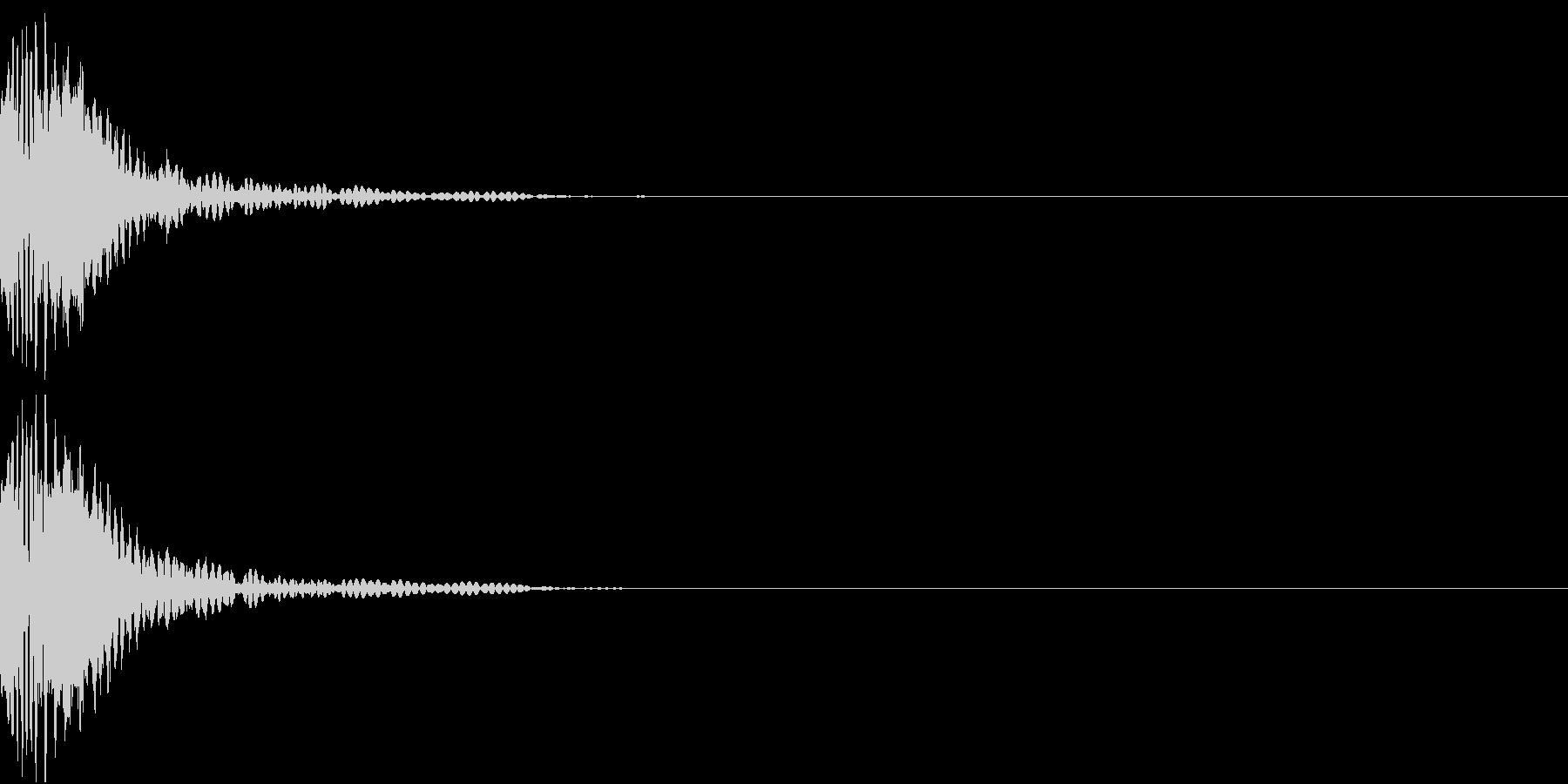 KAKUGE 格闘ゲーム戦闘音 39の未再生の波形
