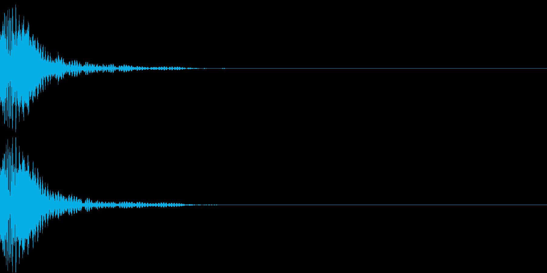 KAKUGE 格闘ゲーム戦闘音 39の再生済みの波形