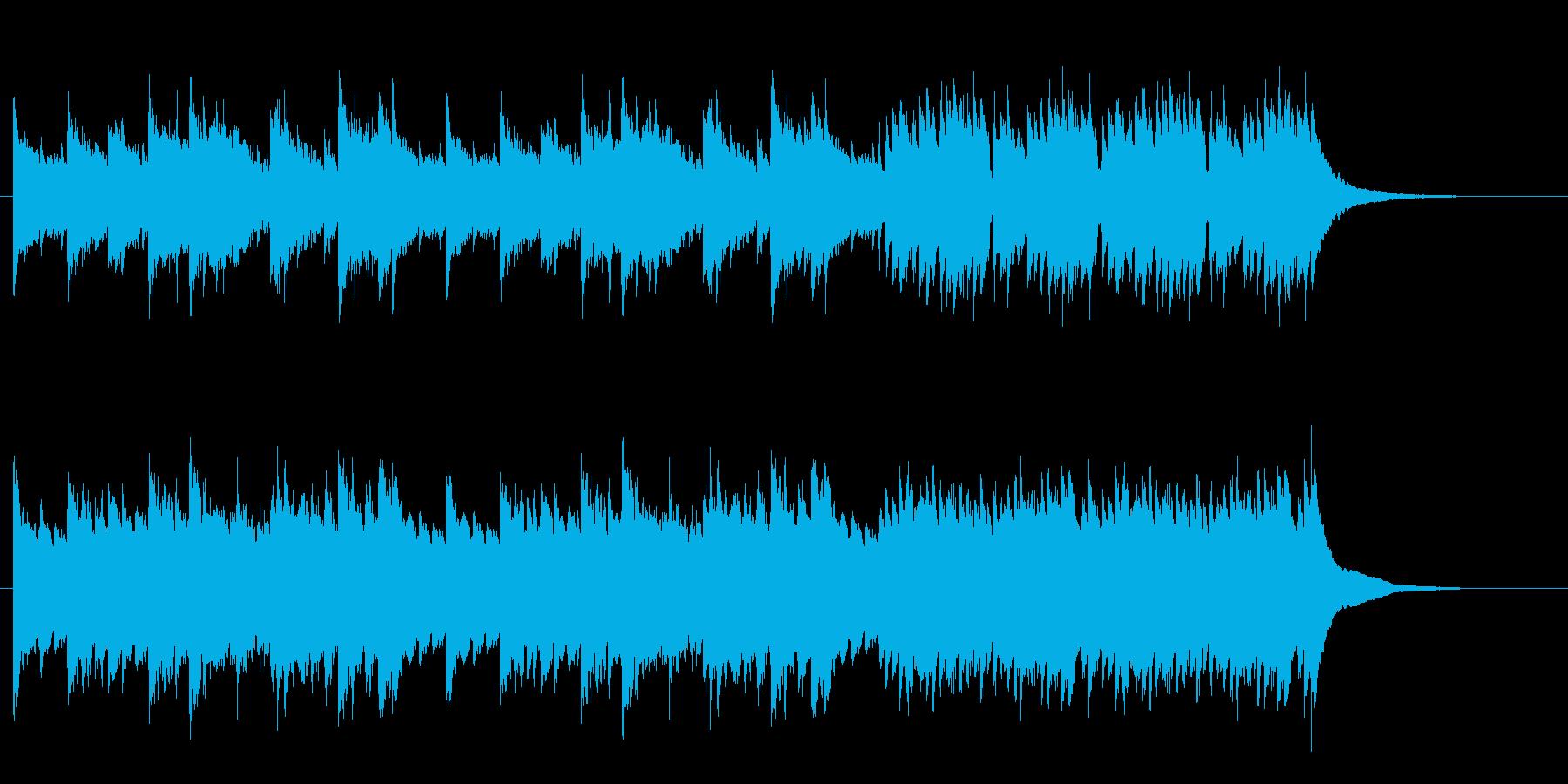 【ピアノ ロック】力強いピアノバッキングの再生済みの波形