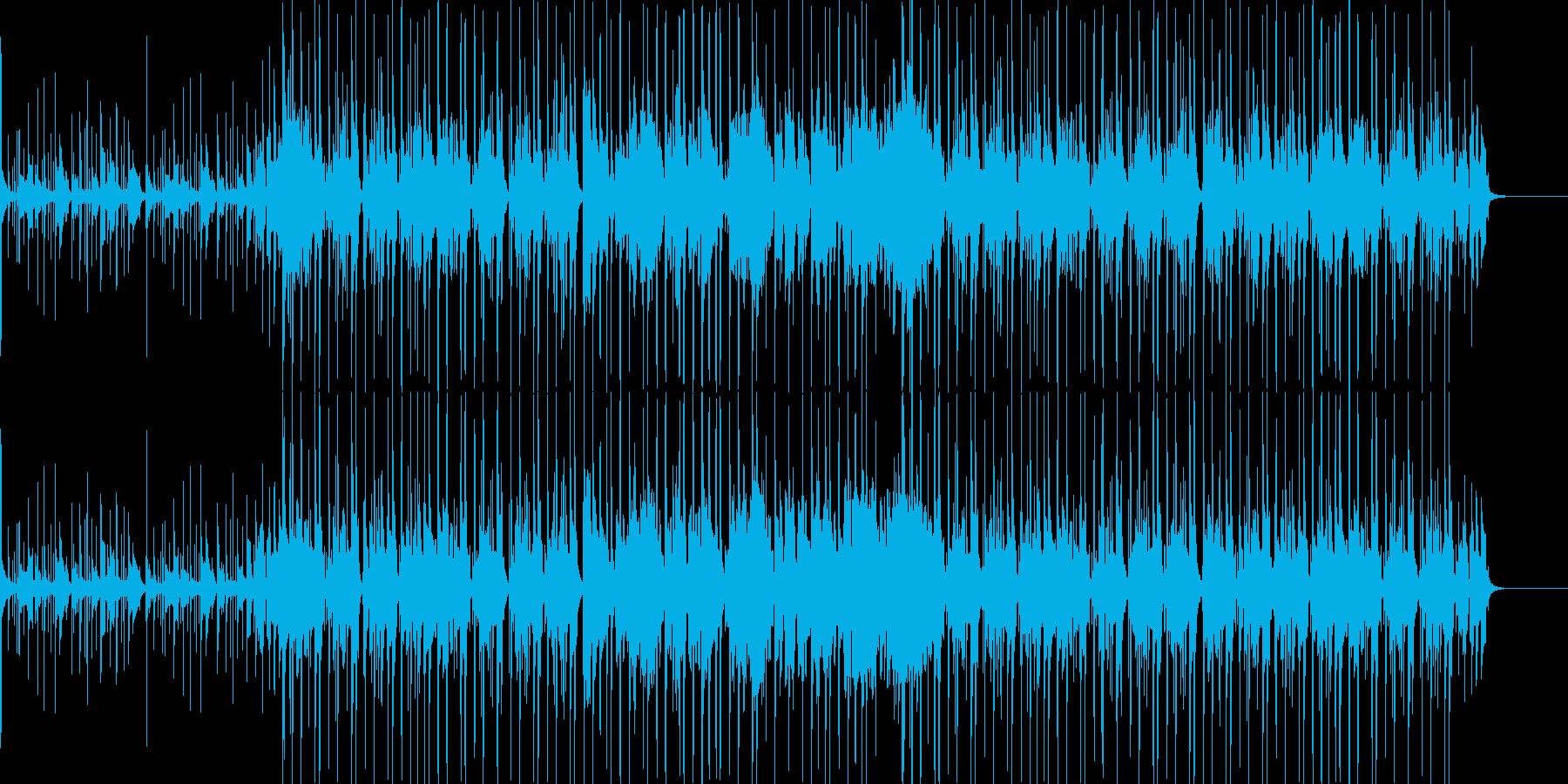 サックスの入ったファンクな曲の再生済みの波形