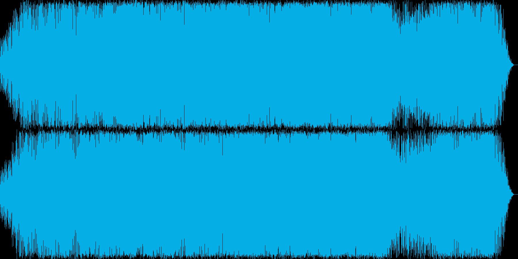 メロディが印象的なノリの良いEDMの再生済みの波形