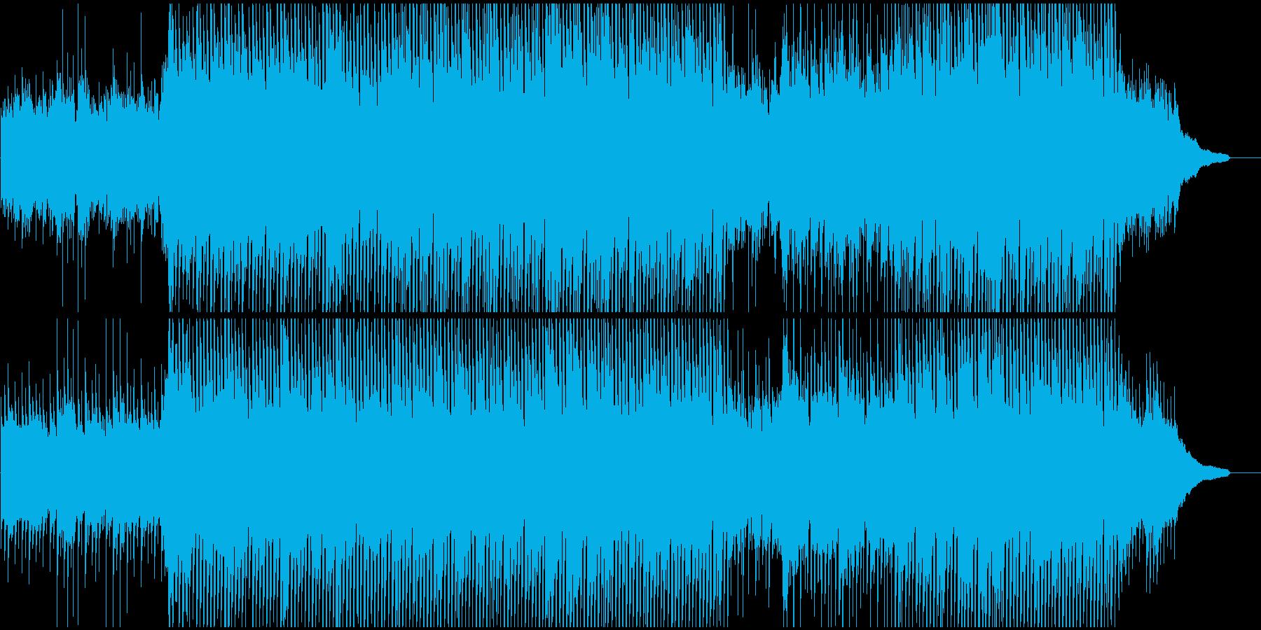企業VPや映像に ピアノ爽やかポジティブの再生済みの波形