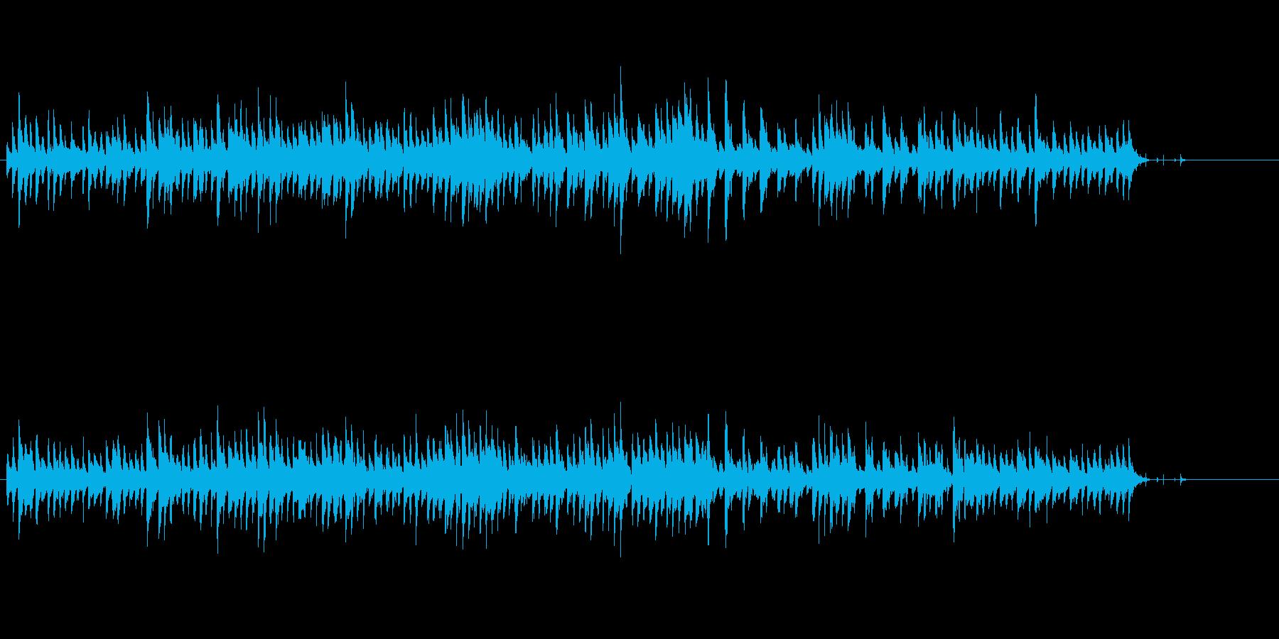 軽く弾むメルヘンチックなピアノの調べの再生済みの波形