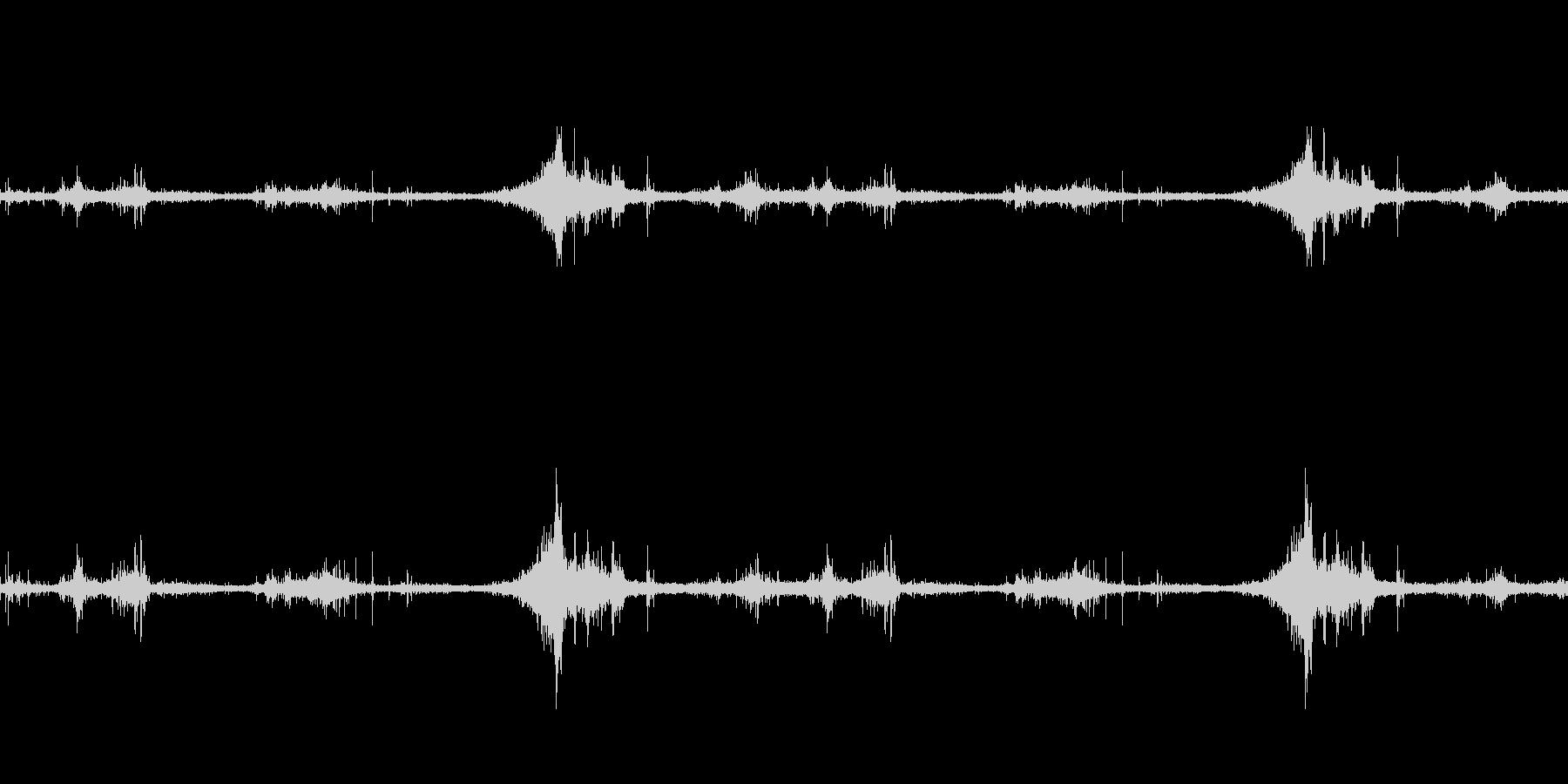 海面の音-1の未再生の波形