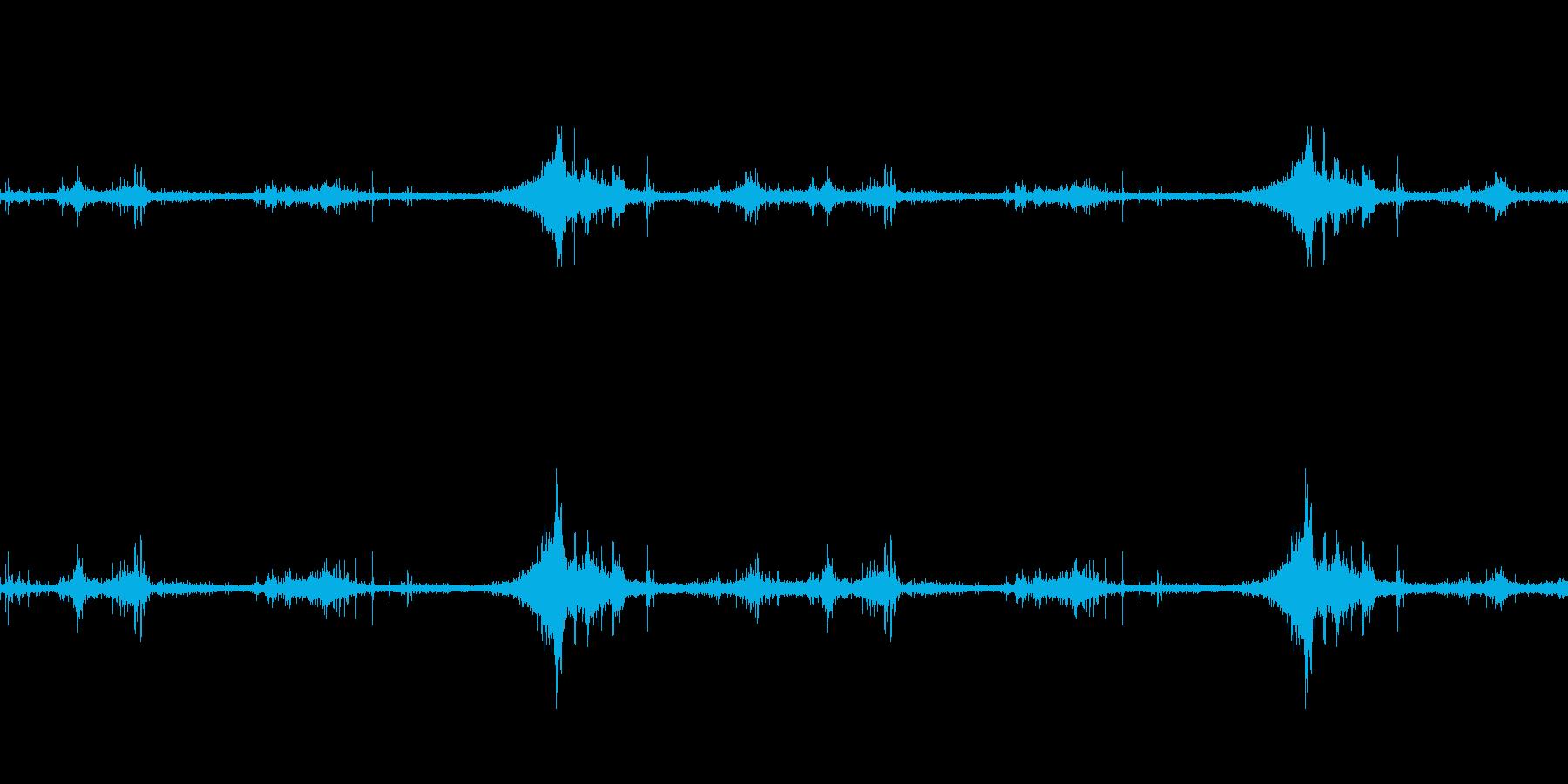 海面の音-1の再生済みの波形
