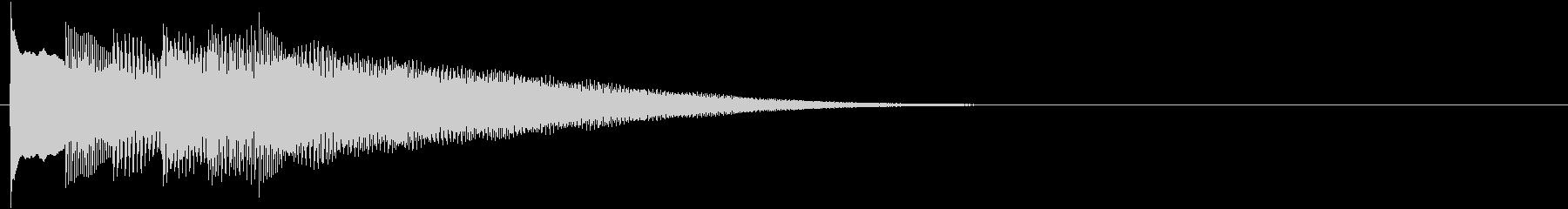 フレーズ系08 文字、スーパー表示(大)の未再生の波形