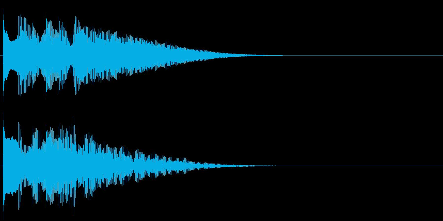 フレーズ系08 文字、スーパー表示(大)の再生済みの波形