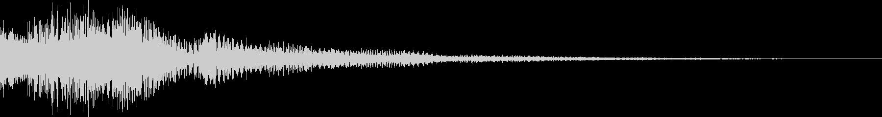 ピロロローン低(お知らせ アイキャッチ)の未再生の波形