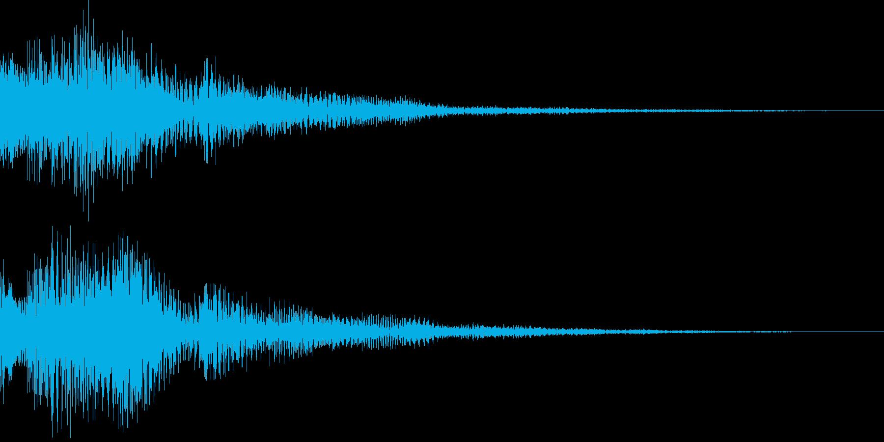 ピロロローン低(お知らせ アイキャッチ)の再生済みの波形