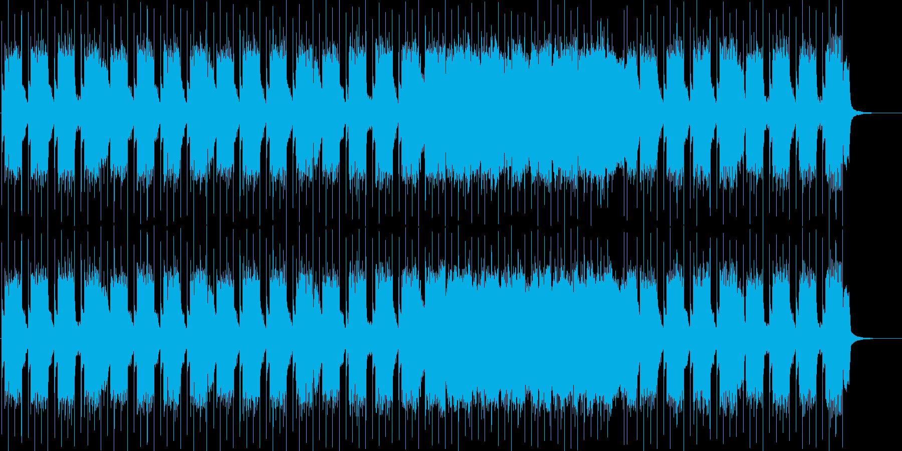紹介動画 映像 CMに アメリカンロックの再生済みの波形