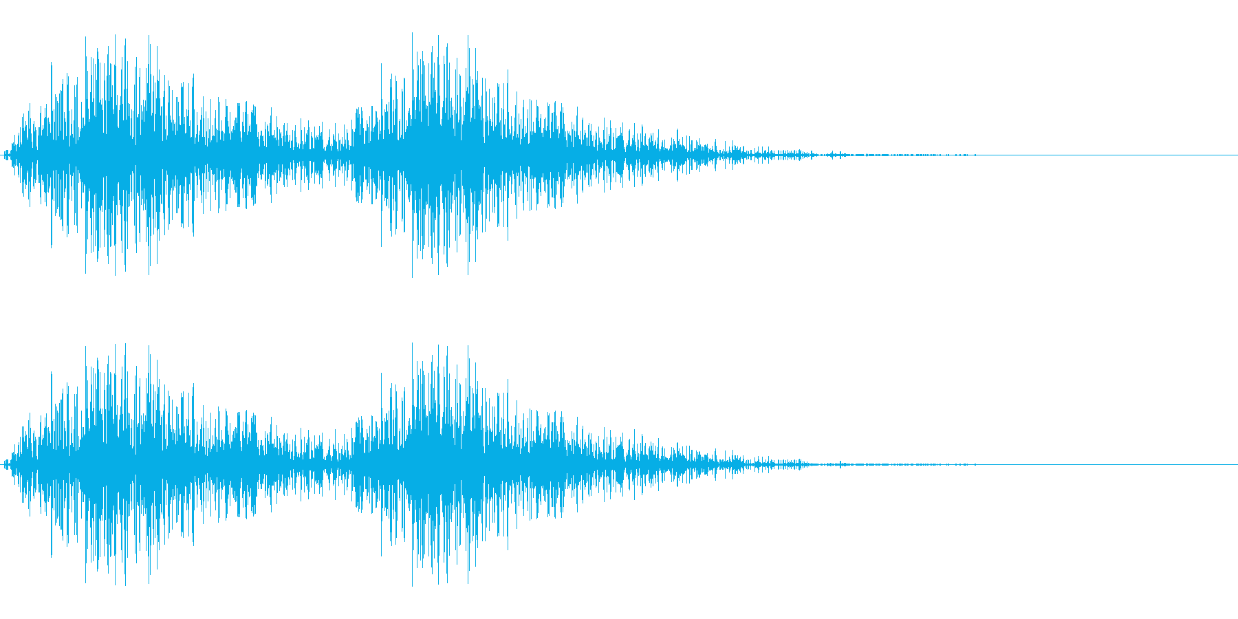 シャシャッ(パンチ/連続攻撃/動物)の再生済みの波形