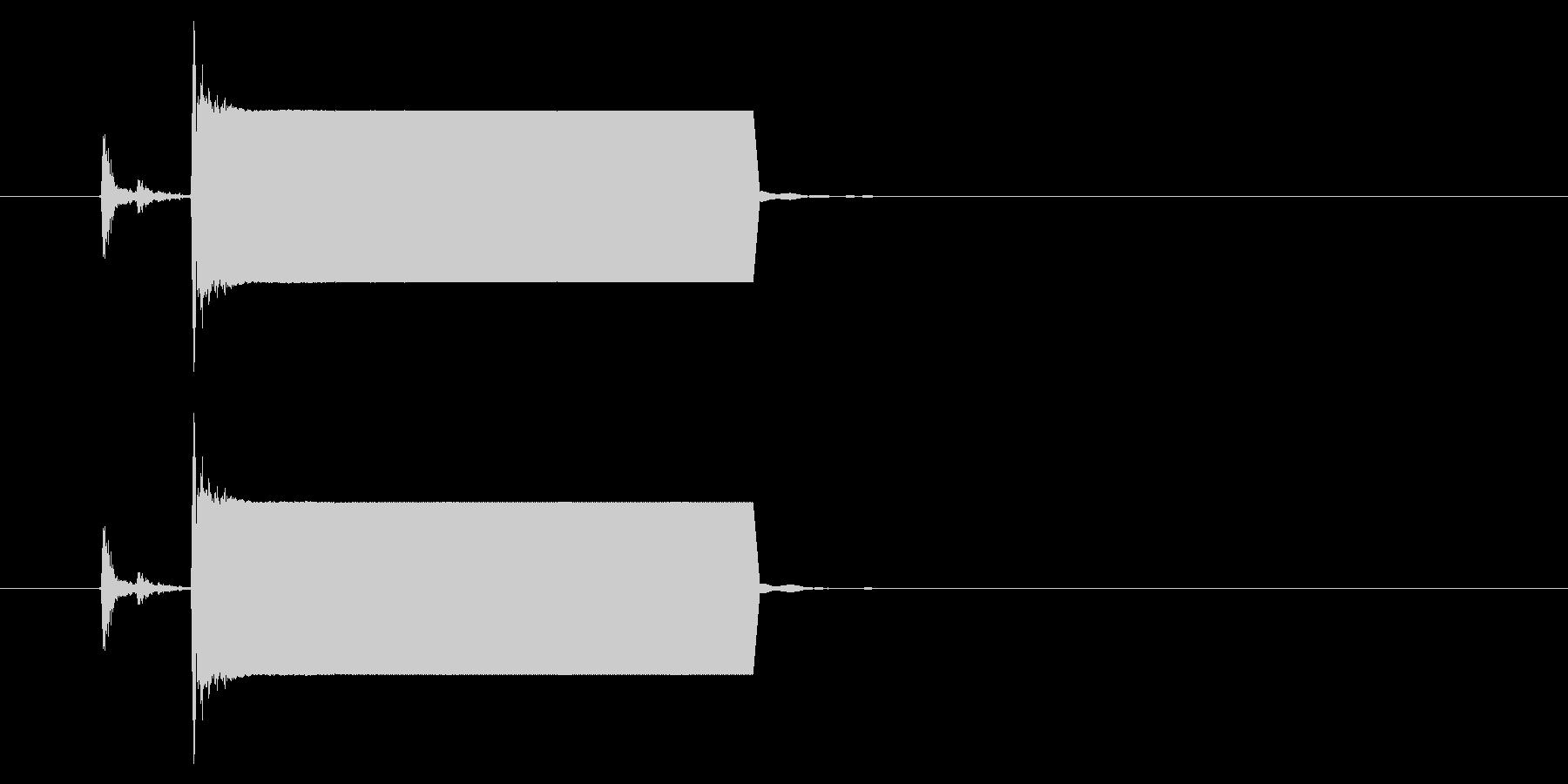 改札 ビープ音01-03(音色1)の未再生の波形