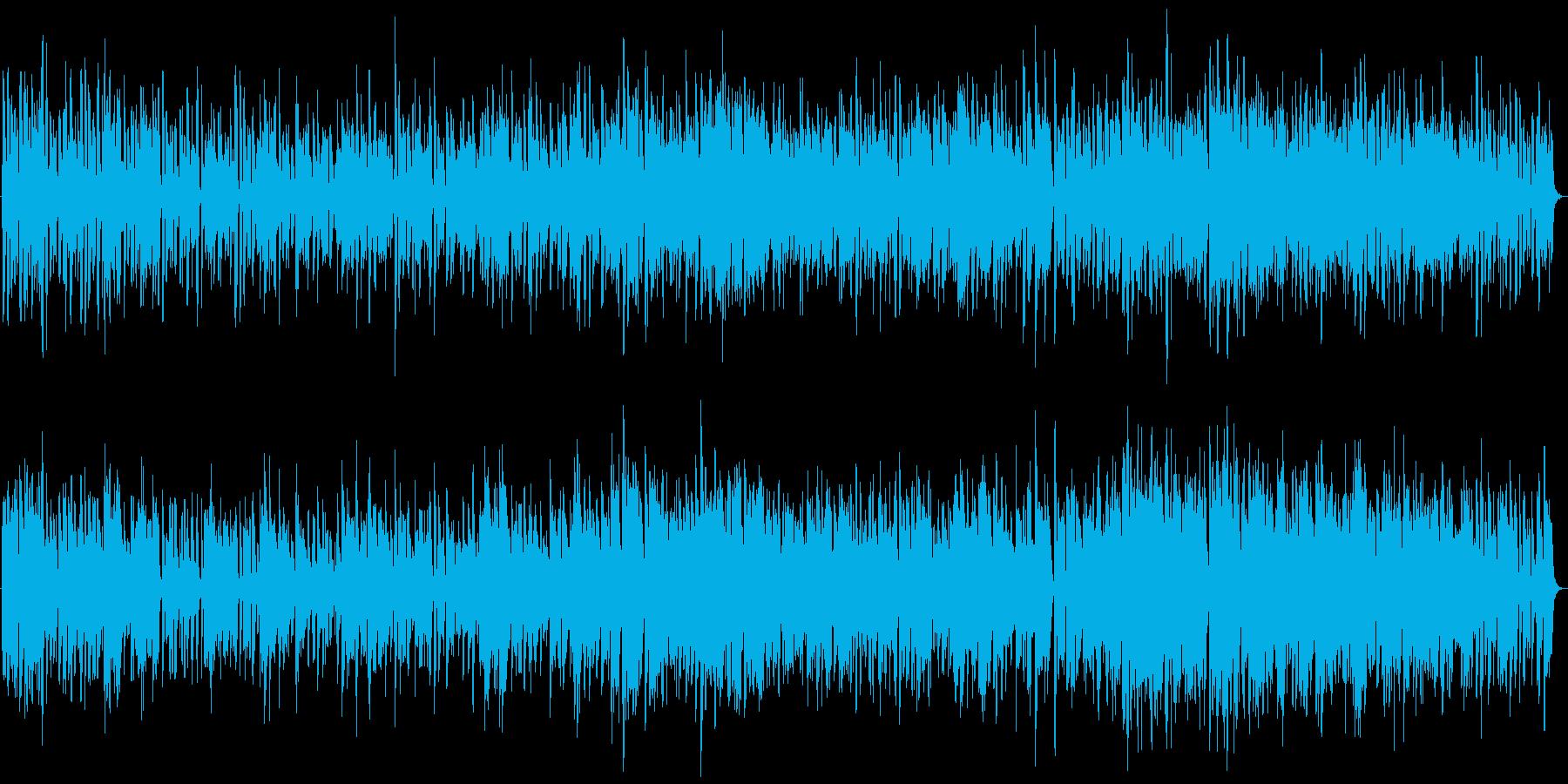 70年代 グレイトフル・デッド風ロックの再生済みの波形