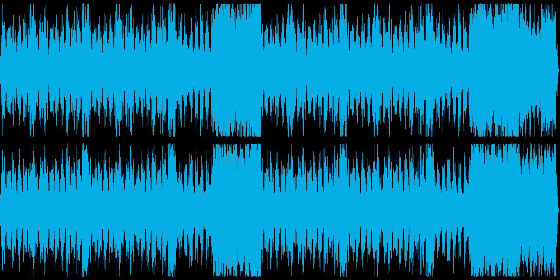 RPGのOP風の壮大オーケストラの再生済みの波形