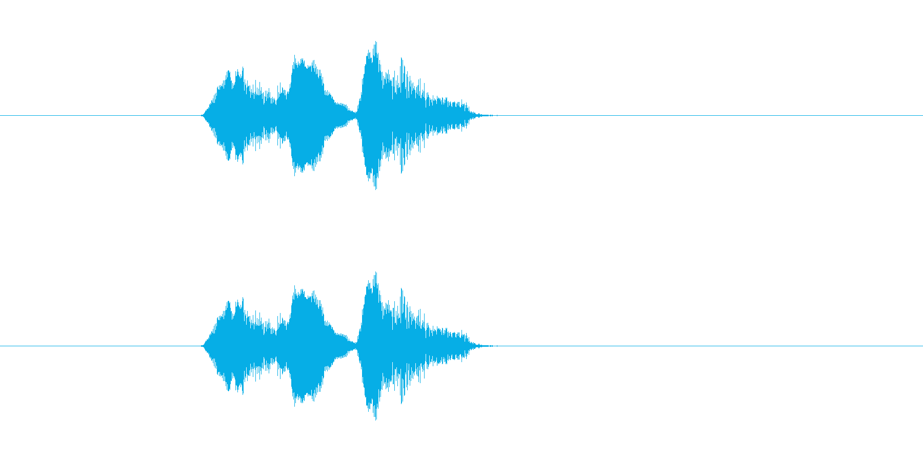 リスンドゥアの再生済みの波形