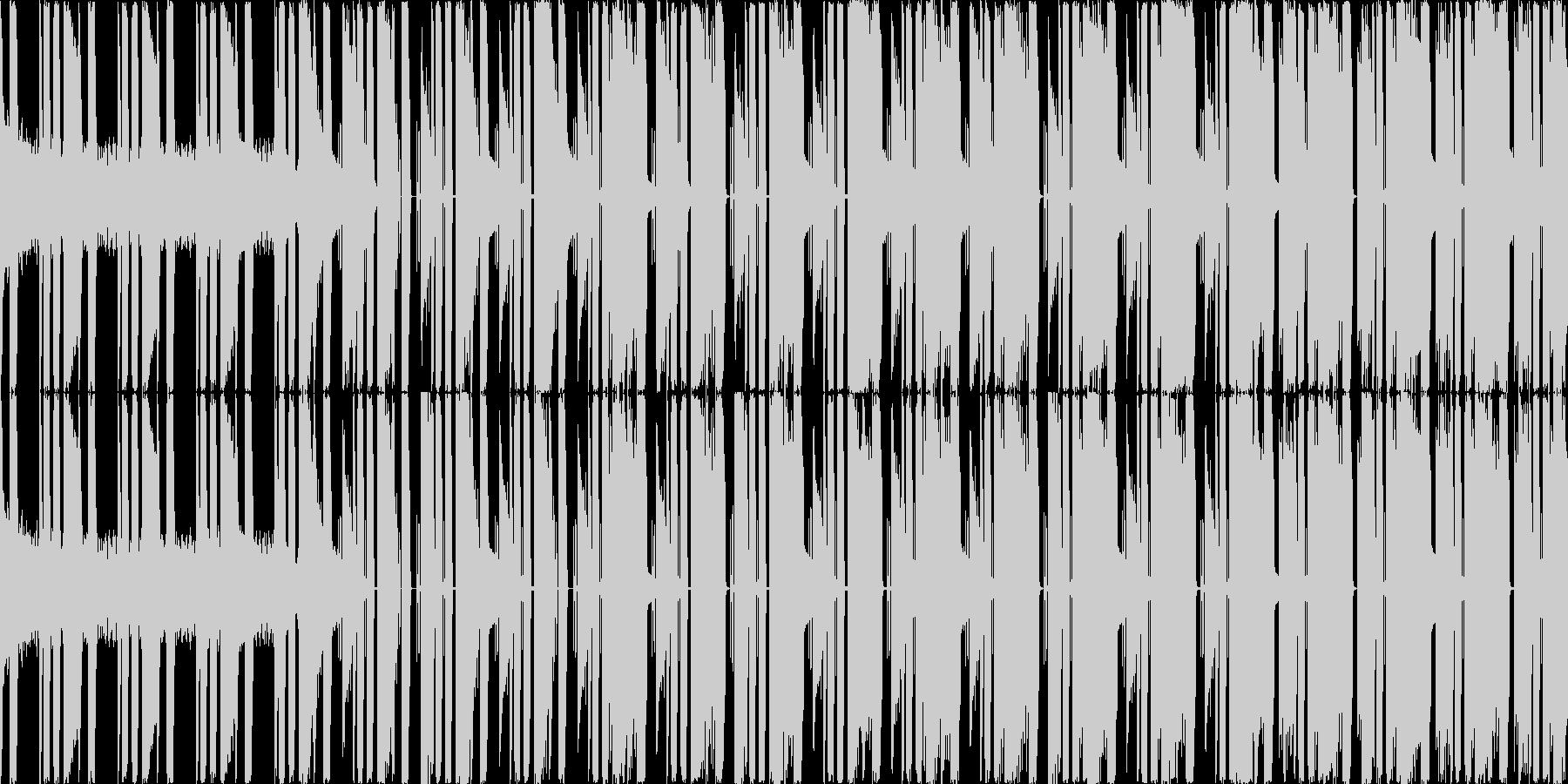 ファミコン風ゲーム 炎/ボスステージ  の未再生の波形