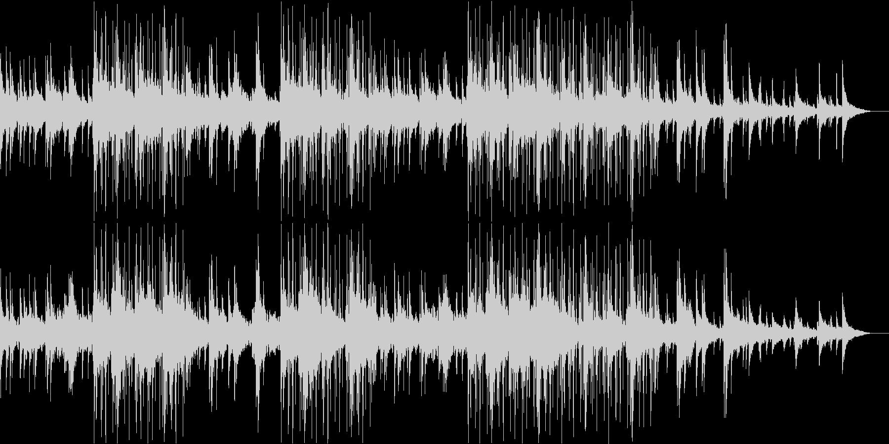 ほっこりとまどろむようなJazzyな曲の未再生の波形