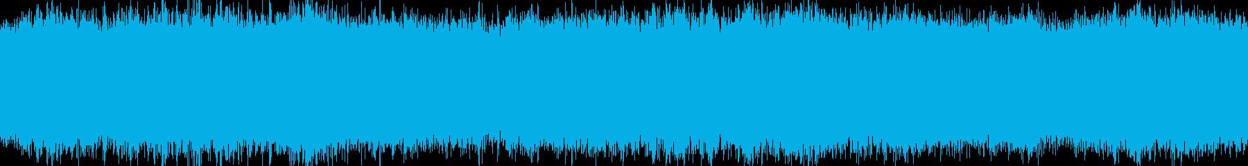 気弾のせめぎ合いの再生済みの波形