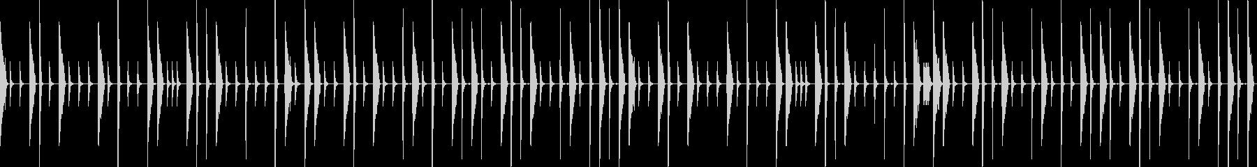 ドラムだけ欲しい場面でお使いくださいの未再生の波形