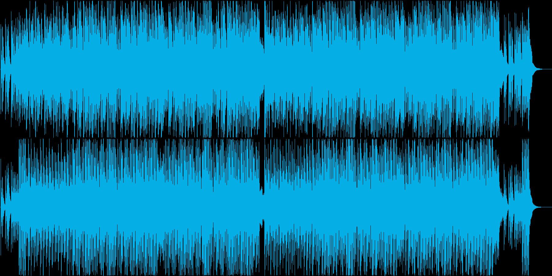 明るいコミカルなオーケストラBGM♪の再生済みの波形