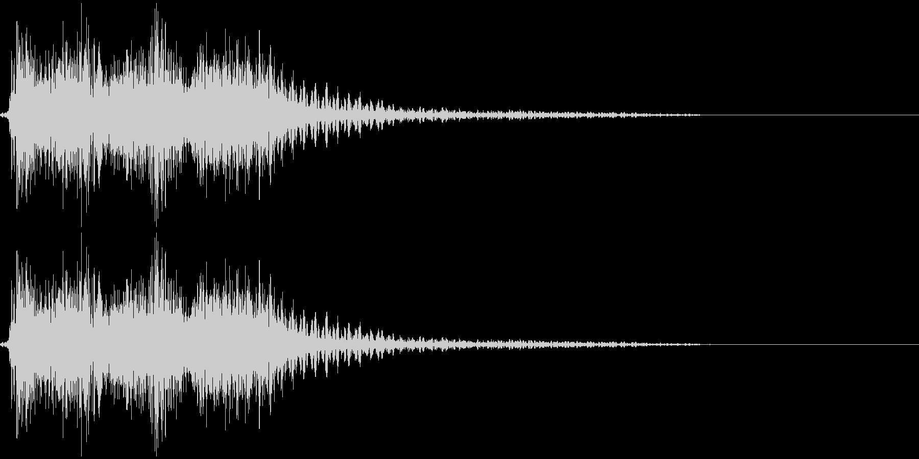 【クイズ】出題音の未再生の波形