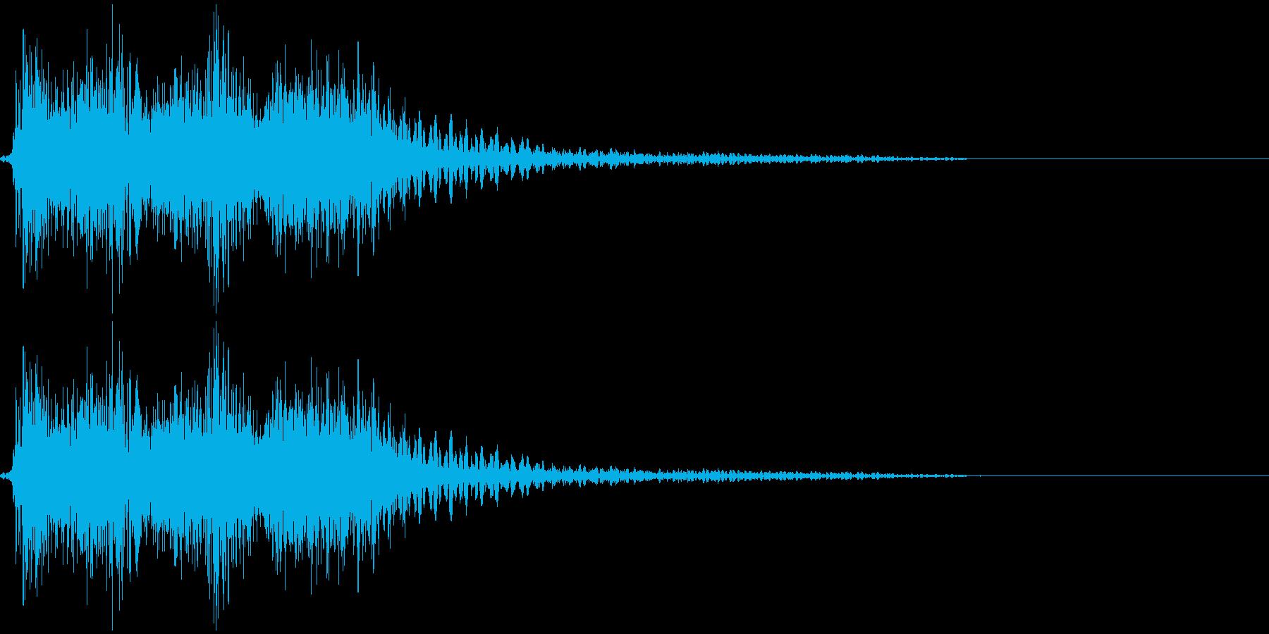 【クイズ】出題音の再生済みの波形