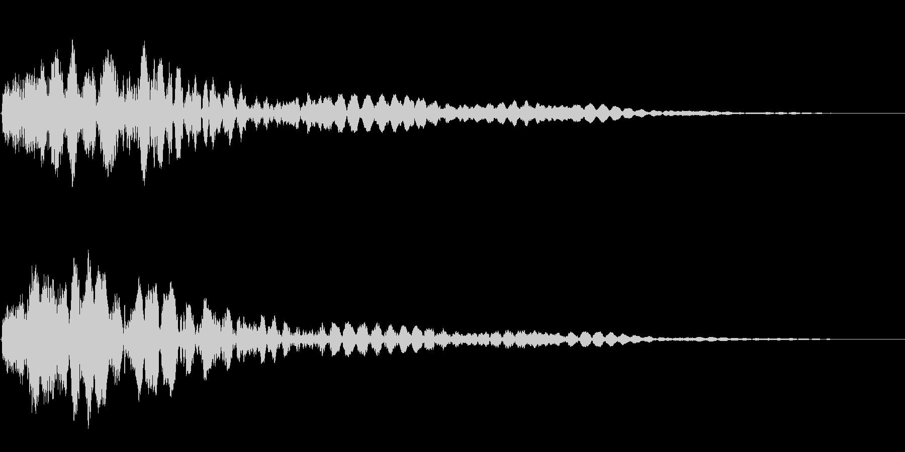 サスペンスに最適!ピアノの弦を弄ぶ音51の未再生の波形