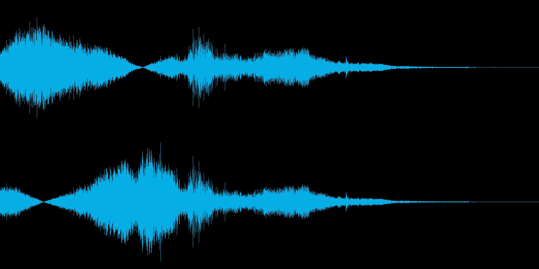 F1などのレース、エンジン効果音44!の再生済みの波形