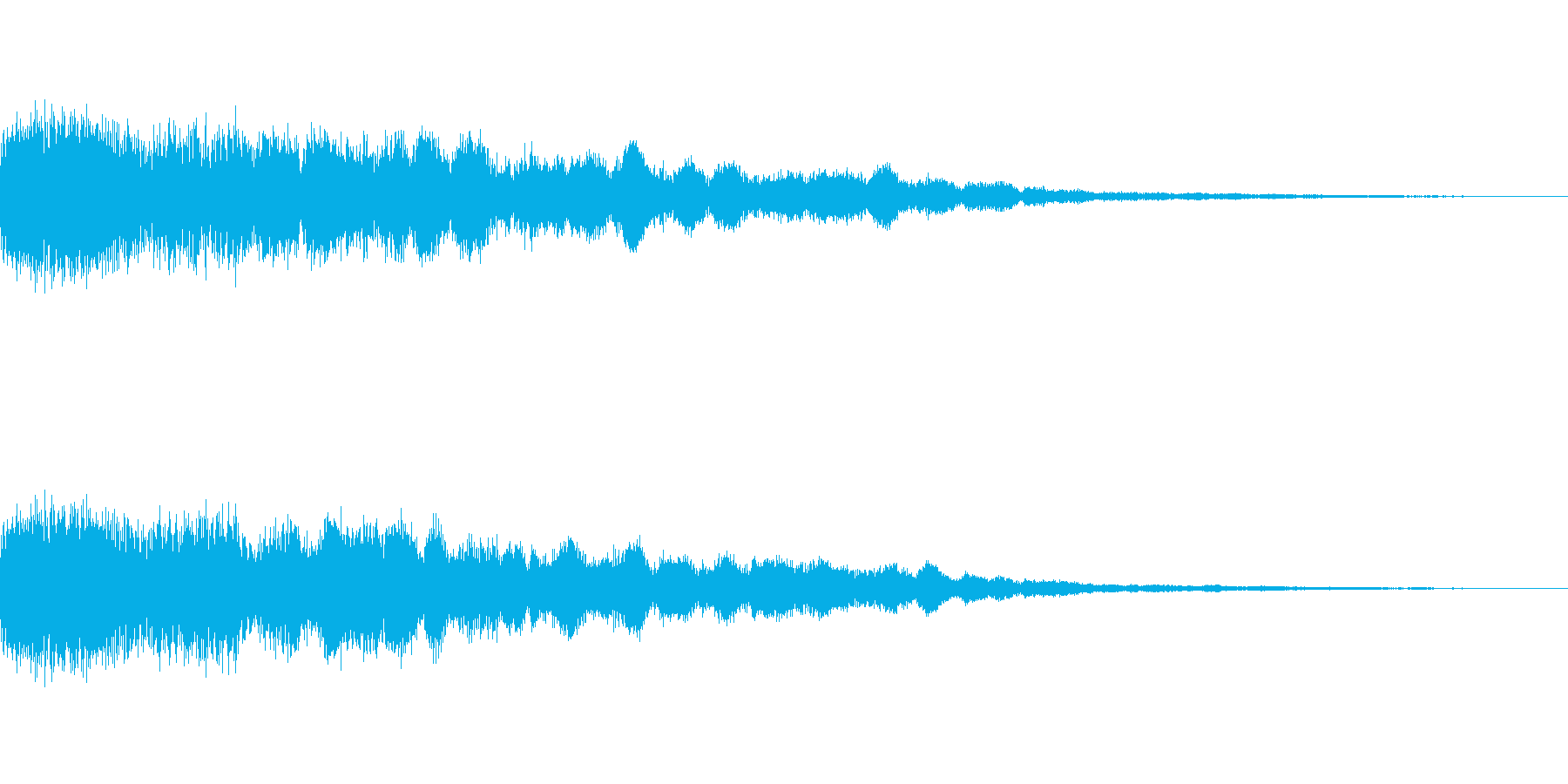 [ギュピーン]キメ・カットイン(派手に)の再生済みの波形