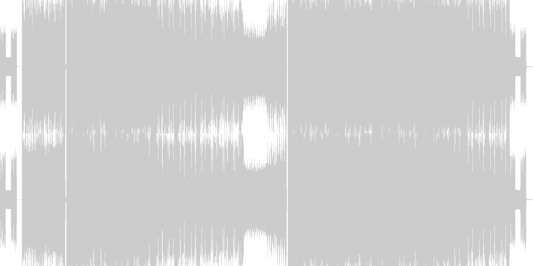 ギターロック メタルの未再生の波形