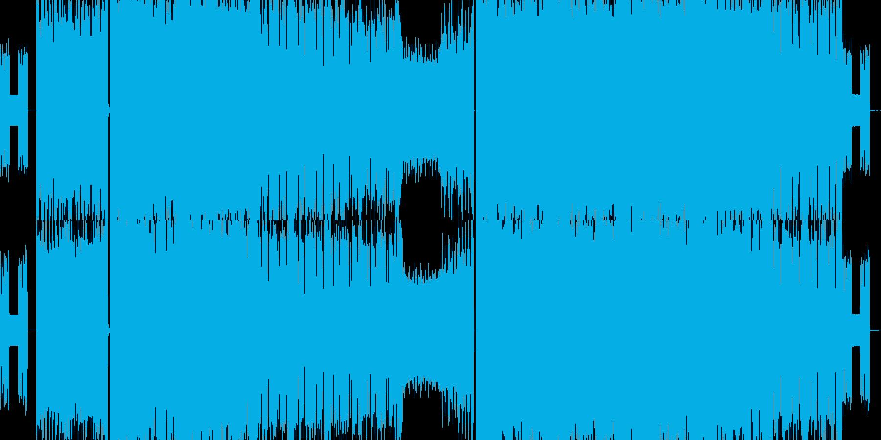 ギターロック メタルの再生済みの波形