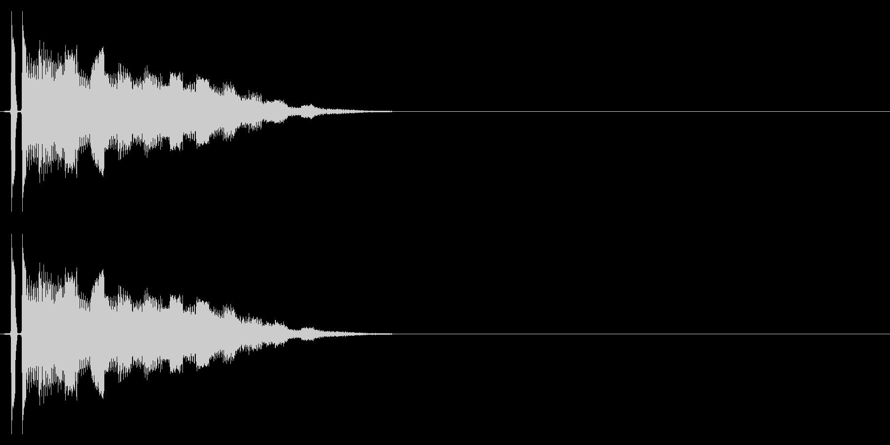 トゥリーン(ゲームSEっぽいシンセ音)の未再生の波形