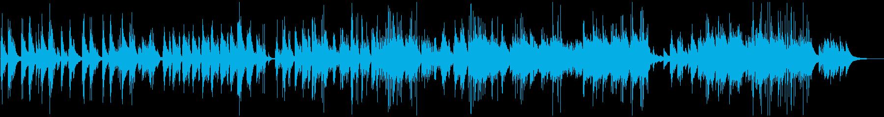 どこか切なく繊細なピアノバラードの再生済みの波形