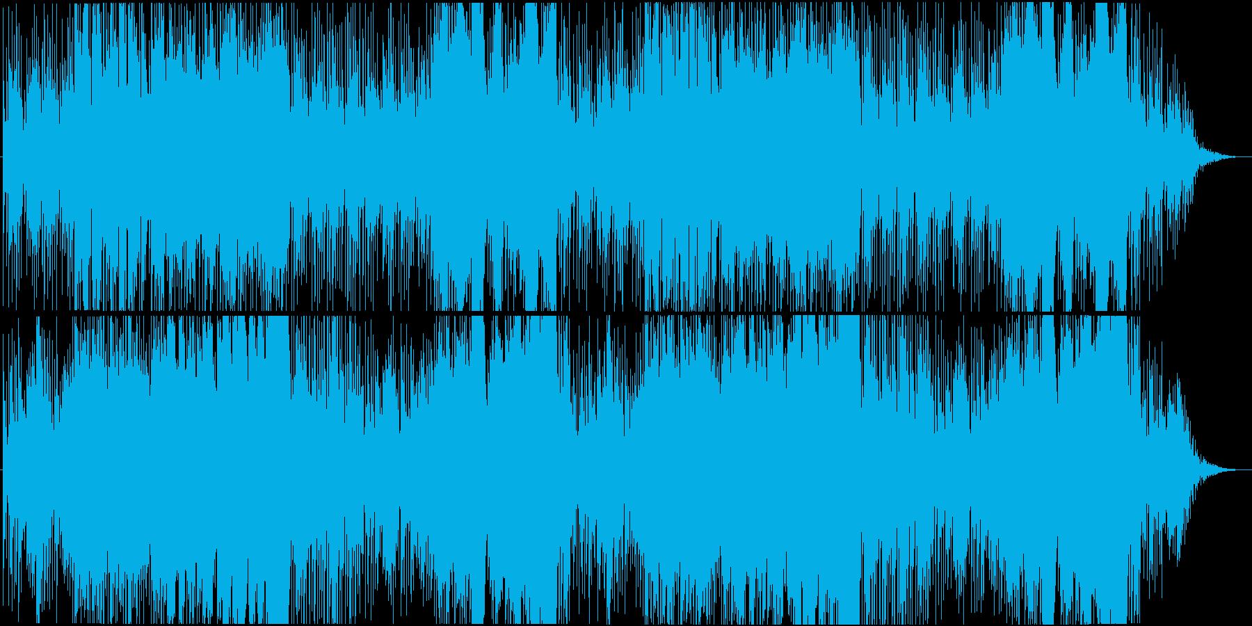 RPG向け鉄鋼と村をイメージしたBGMの再生済みの波形