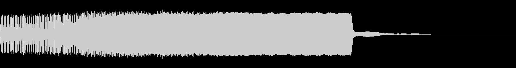 遊技機用強調SE(上昇系電子音)の未再生の波形