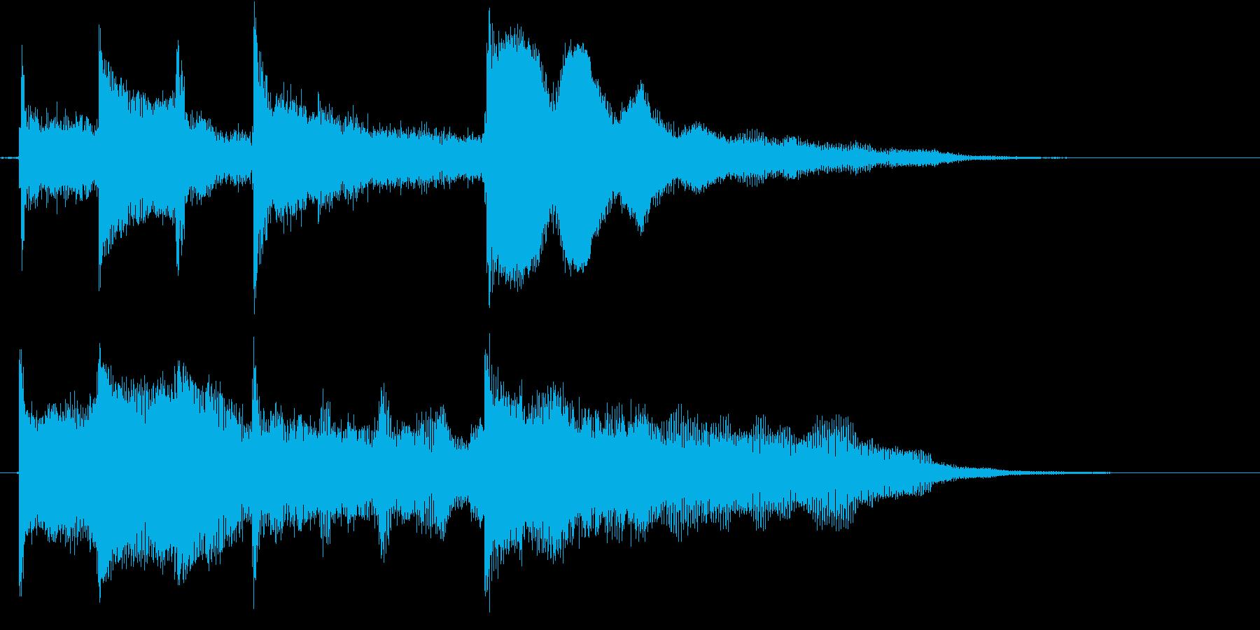 シンプル&スタンダードで使いやすいロゴの再生済みの波形