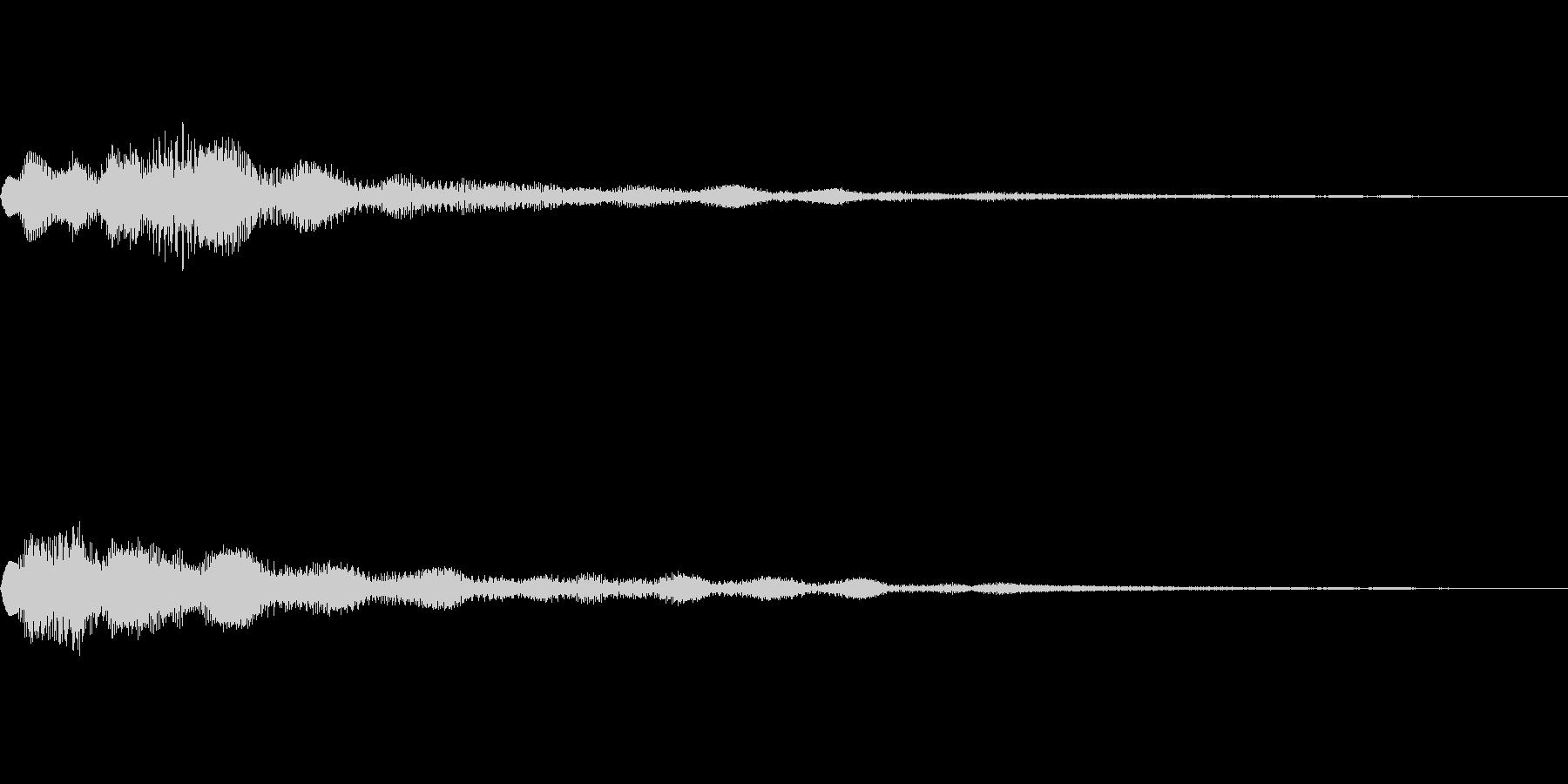 ベル SE01の未再生の波形