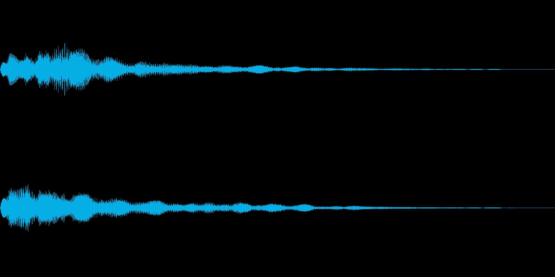 ベル SE01の再生済みの波形
