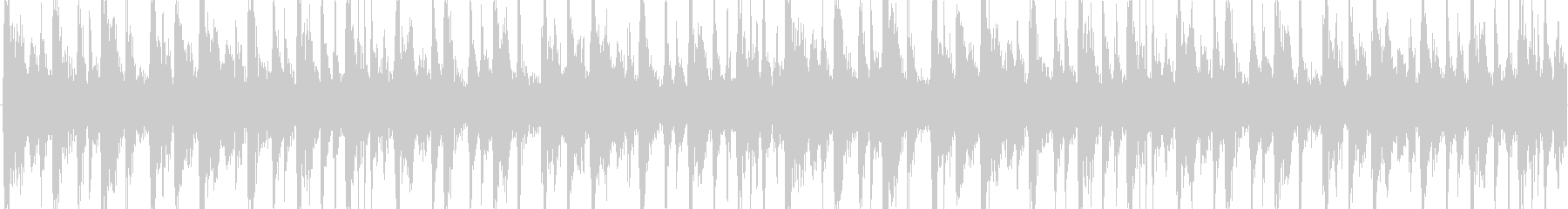 おしゃれなハウス系。ほのぼのした雰囲気の未再生の波形