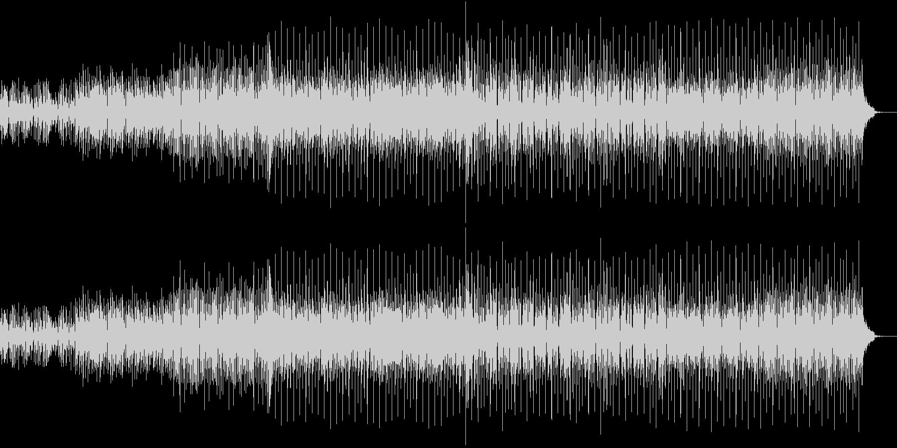 キャッチなメロディーのミディアムPOPSの未再生の波形