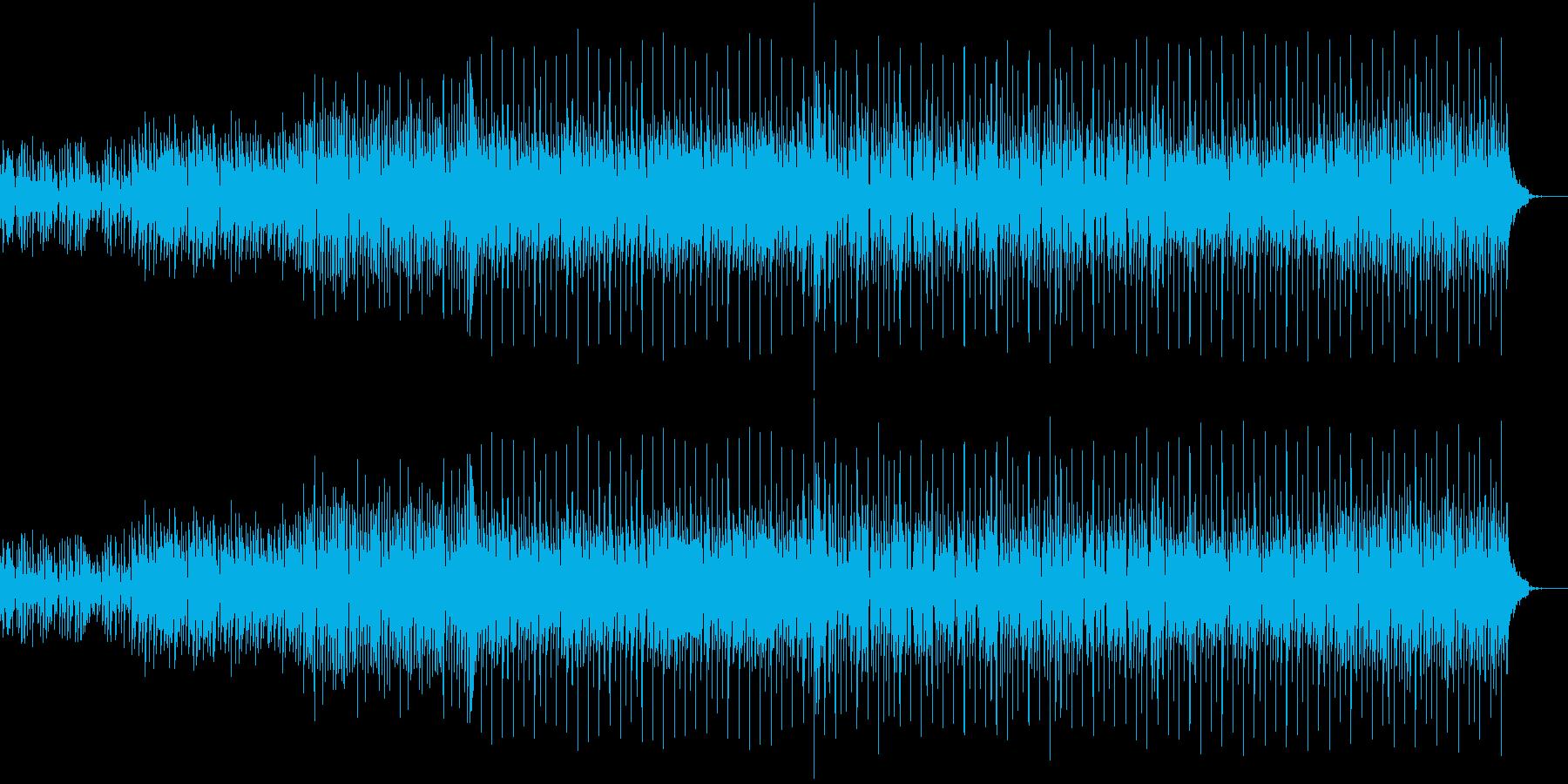 キャッチなメロディーのミディアムPOPSの再生済みの波形