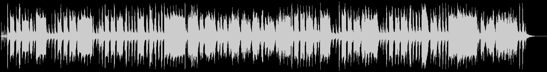 可愛いうきうきするメルヘンなポップな曲の未再生の波形
