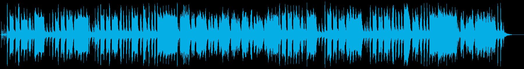 可愛いうきうきするメルヘンなポップな曲の再生済みの波形