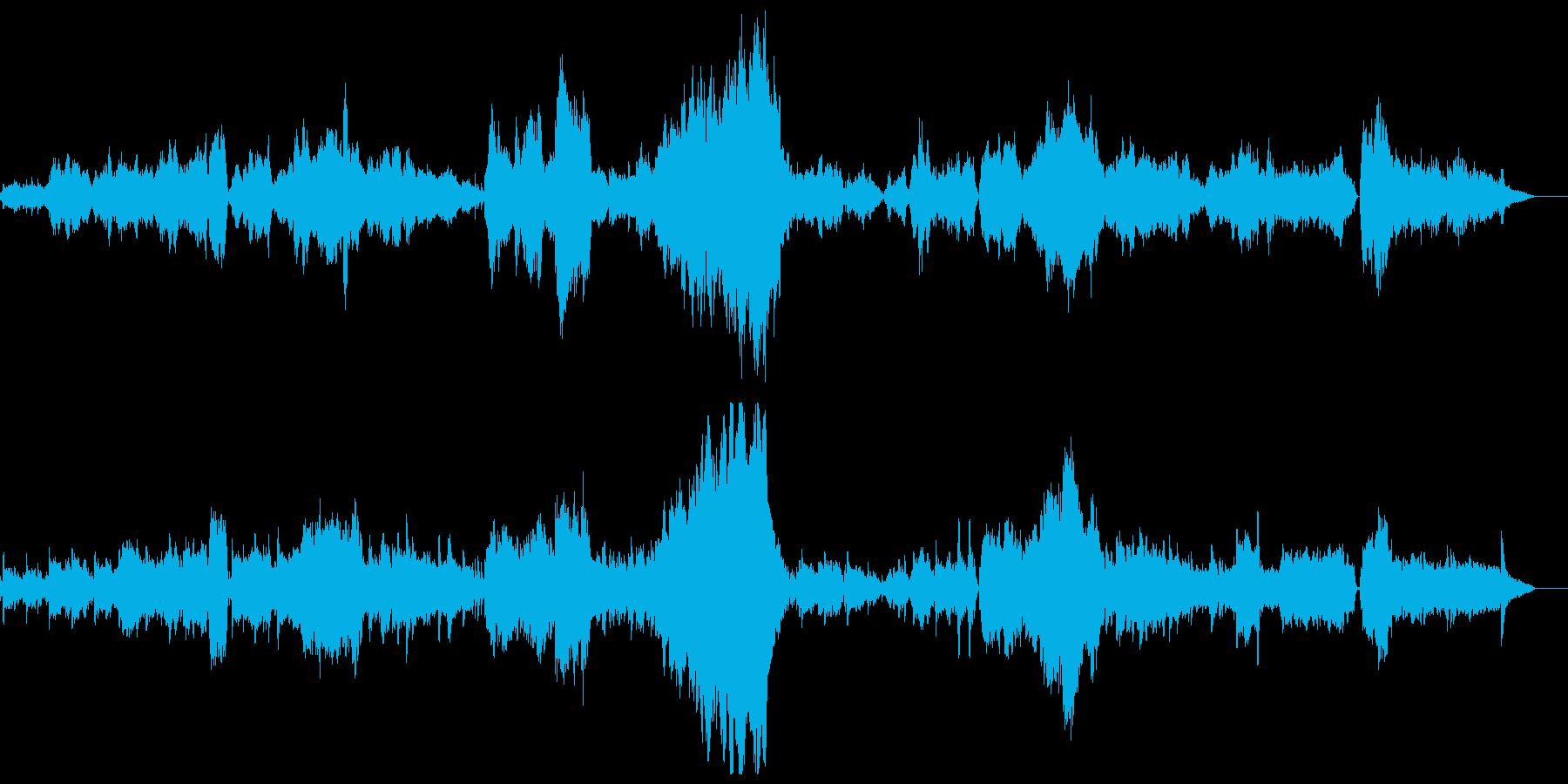 タイスの瞑想曲 フルオケリバーブ無しの再生済みの波形