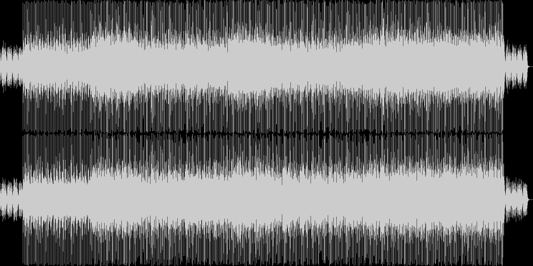 トランペットが印象的な夏の朝ソングの未再生の波形