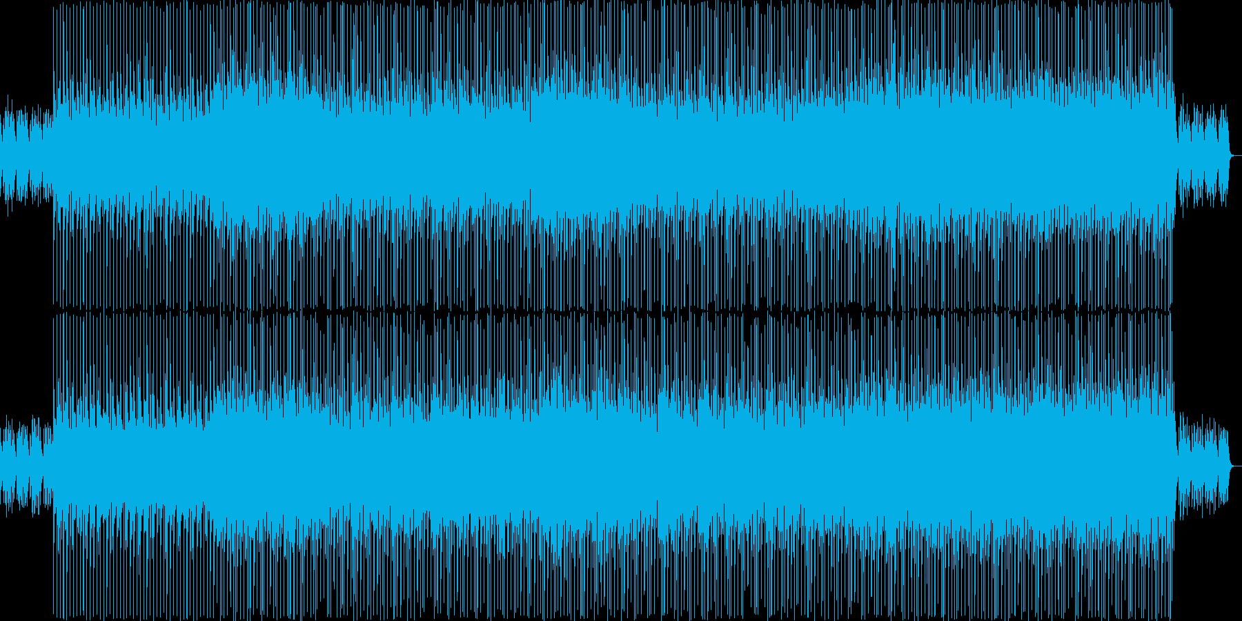 トランペットが印象的な夏の朝ソングの再生済みの波形