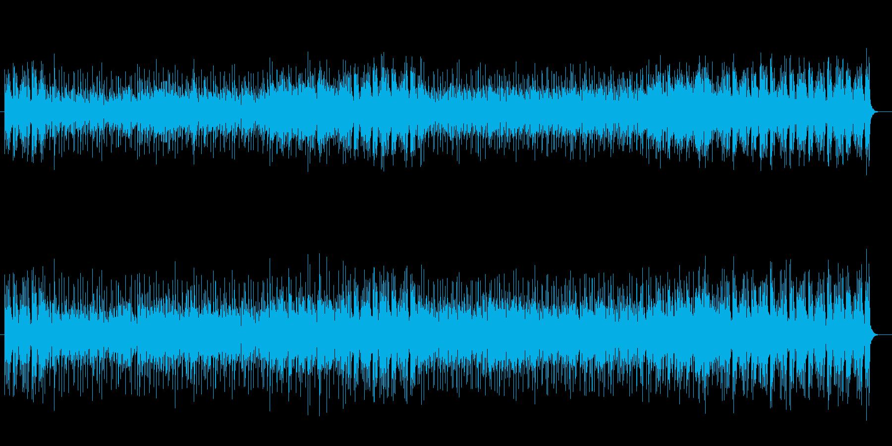 軽快でさわやかなニューミュージックの再生済みの波形