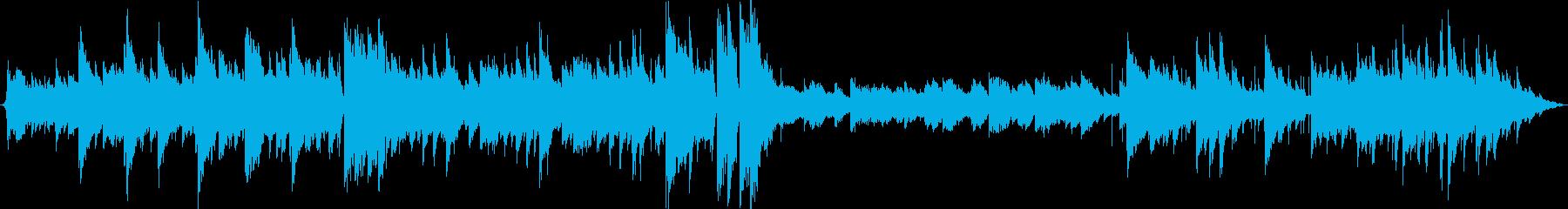 おしゃれなトリオジャズの再生済みの波形