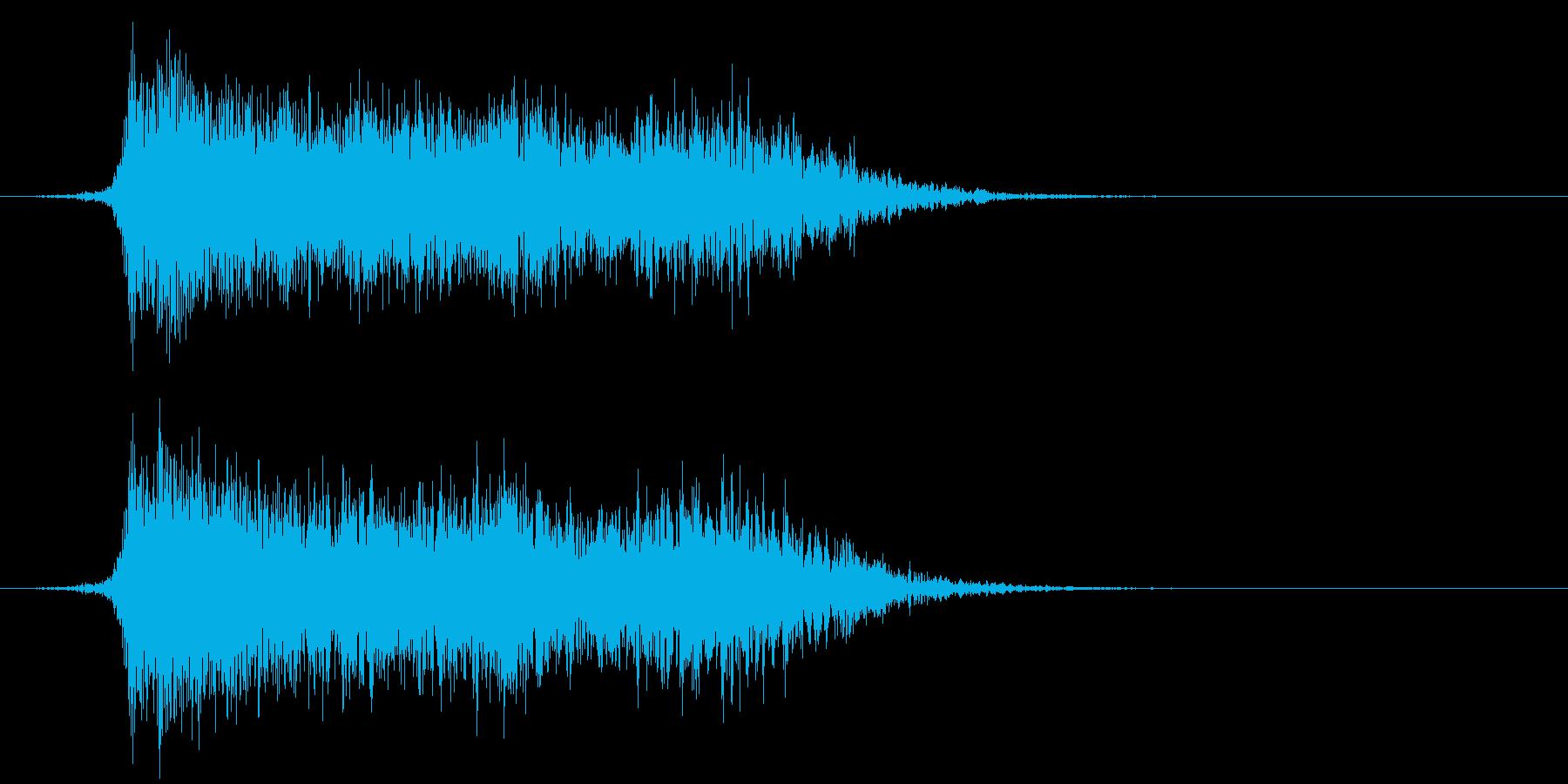 コミカルなダッシュ!ジャンプ効果音!10の再生済みの波形